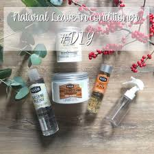natural leave in conditioner diy