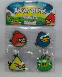 Angry Birds 4 Pack Rubber Magnets Red Blue & Yellow Birds & King Green Pig  New - Angry Bird Gifts #angrybird #angryb… | Angry bird plush, Birds for  sale, Bird gifts