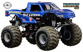 Bigfoot 4x4 Monster Truck Wall Decal 12 Inches Tall T3 Word Factory Design