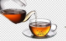 clear glass cup green tea coffee