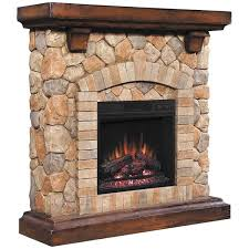 tequesta stone fireplace with insert 18