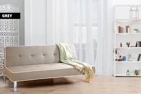 ellis fabric sofa bed wowcher