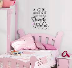 Decal A Girl Should Be Two Things Classy And Fabulous 3 Wall Decal 13 X 16 Black Pink Heart Walmart Com Walmart Com