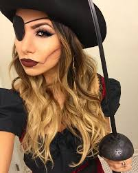 how to apply makeup look like a pirate