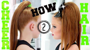 all star cheer hair and makeup