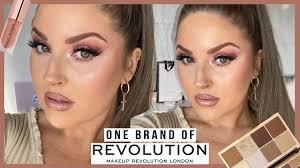 full face of makeup revolution one