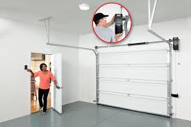 wall mount garage door openers