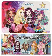 Kit Imprimible Ever After High