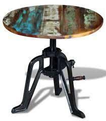 vintage round coffee table retro