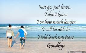 goodbye messages for girlfriend quotes for her goodbye message