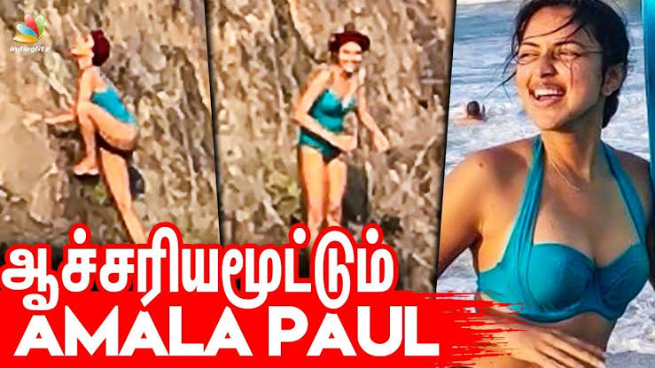Image result for Amala paul hot bikini""