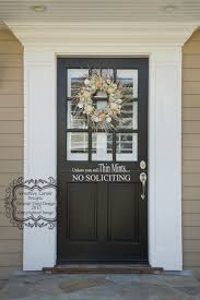 Unless You Sell Cookies No Soliciting Vinyl Decal Front Door Etsy In 2020 Glass Front Door Front Door Molding Front Door Entrance