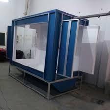 mild steel diy powder coating booth