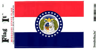 Missouri Flag Decal Sticker Durable Vinyl From Flags Unlimited Us Flags