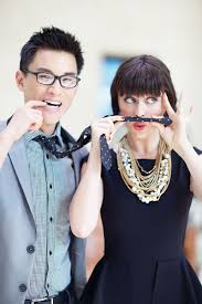 Goofing off, as per usual. We heart @Hank Chen and Hilary (@Dean Street  Society)! | Spring trends, Vpl, Hilary rushford