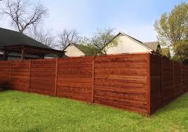 Horizontal Wood Fences A Better Fence Company Horizontal Fences