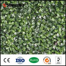 China Home Garden Decor Artificial Grass Fence Panels Hedges China Fence And Artificial Plant Price