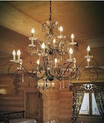 rococo style 3 tier chandelier