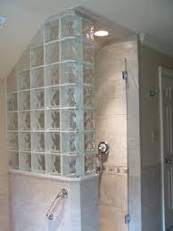 glass block half wall half wall