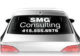Car Window Decals Auto Window Decals For Vehicles Signazon Com