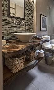 16 romantic wooden bathroom sink