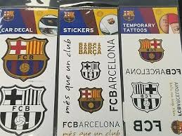 Fc Barcelona Barca Spain Soccer Decal Sticker Car Truck Window Bumper Laptop Auto Parts And Vehicles Car Truck Graphics Decals Magenta Cl