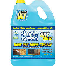Simple Green Oxy Solve 1 Gallon Deck And Fence Pressure Washer Cleaner In The Pressure Washer Chemicals Department At Lowes Com