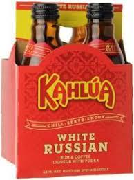 kahlua white russian 4 pack 4 200ml