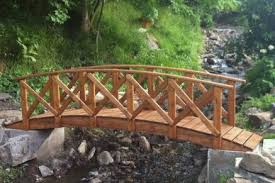 beautiful and authentic garden bridges