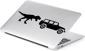 Amazon Com T Rex Off Road Decal Sticker For Car Window Laptop And More 1005 3 X 11 6 Black Arts Crafts Sewing