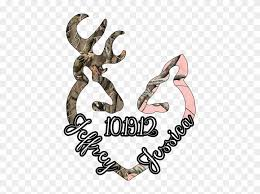 Pin Browning Deer Heart Vinyl Sticker Decal Car Truck Browning Arms Company Free Transparent Png Clipart Images Download