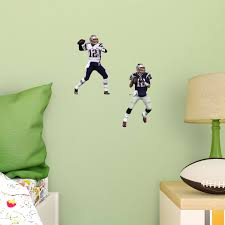 Tom Brady New England Patriots Wall Decal Vinyl Sticker For Room Home Bedroom Home Garden Decor Decals Stickers Vinyl Art Ayianapatriathlon Com
