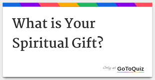 what is your spiritual gift