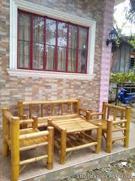 bamboo sala set design philippines