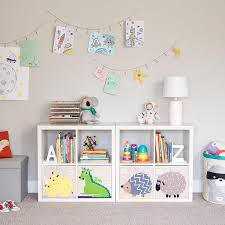 White 4 Cube Cubby Shelving Storage Kids Room Kid Room Decor Toy Storage Cubes