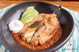 low carb traditional chiles rellenos