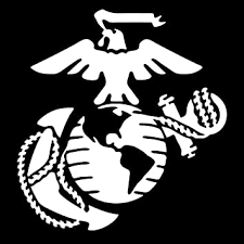 Amazon Com Marine Corps Emblem Vinyl Decal Sticker Cars Trucks Vans Walls Laptops Cups White 5 5 X 5 2 Inch Kcd1730 Automotive