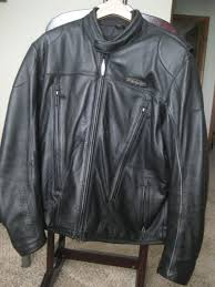 mens fxrg leather jacket waterproof