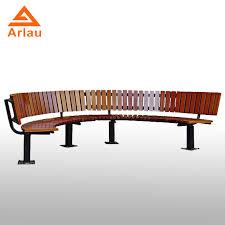 park bench mold metal feet frame wooden
