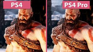 ps4 vs ps4 pro frame rate test
