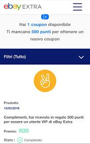 eBay Extra: ricevi un buono sconto di 5€ con l'iscrizione!