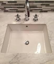 undermount bathroom sink sink powder