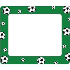 Soccer Photo Frames Wall Decal Frames Sticker Genius