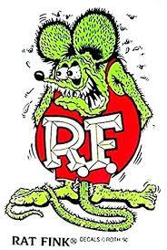 Amazon Com Rat Fink 7 Decal Sticker Ed Big Daddy Roth Hot Rod Car Automotive