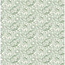 2657-22211 - Adrian Green Paisley Wallpaper - A - Street Prints
