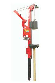 Fence Post Driver Sandhurst Hydraulic Excavator Attachments
