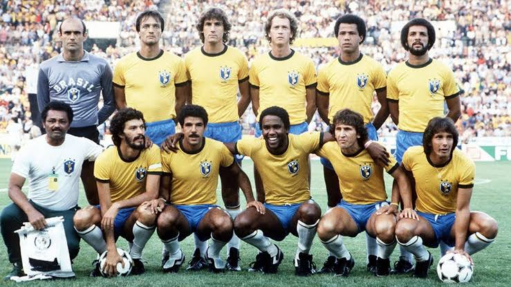 Image result for Brazil 1982 World Cup""