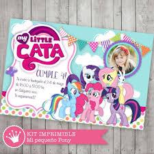 Kit Imprimible Mi Pequeno Pony Little Pony Candybar