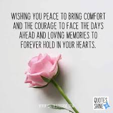 condolences quotes and sayings for friends and family