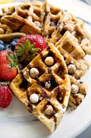 reese s puff cereal waffles recipe